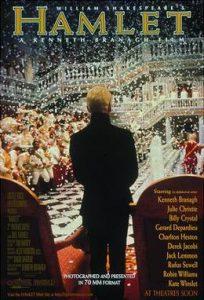 Hamlet ถูกสร้างเป็นหนังจากบทประพันธ์ที่มีชื่อมากที่สุด